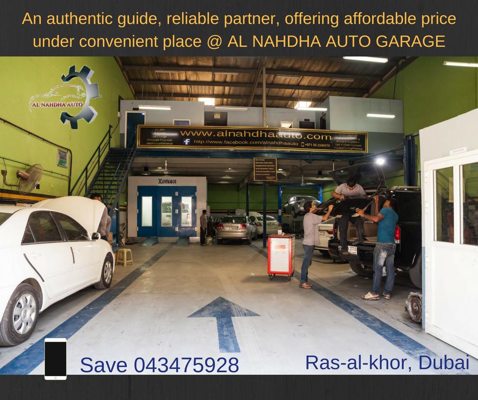 Best Auto Garage Near Mirdif, Cheap And Best Auto Garage