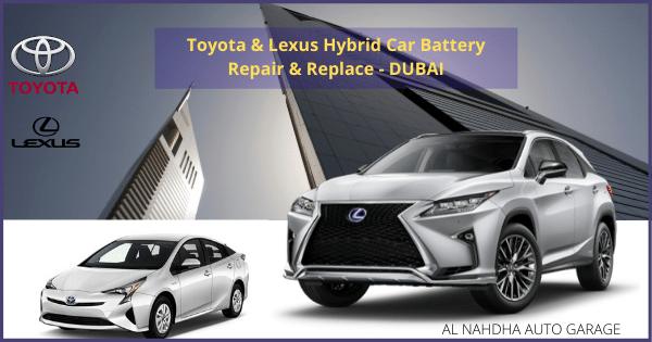 Car battery replacement dubai